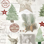 Julpapper Traditionellt del 3