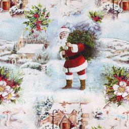 Julpapper Traditionellt del 1
