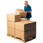 Pallanpassade lådor