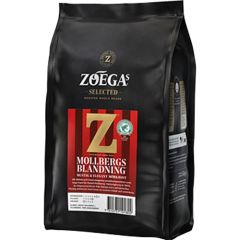 Zoega Kaffe Mollbergs blandning hela bönor