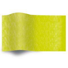 Silkespapper enfärgat Lime