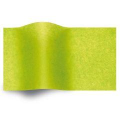 Silkespapper vaxat Lime