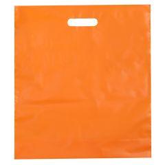 Plastbärkasse orange