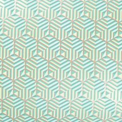 Presentpapper Hexagon green