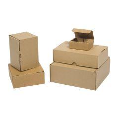 Bruna självlåsande lådor - varubrev