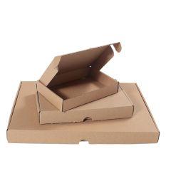 Bruna brevpack med låsning - varubrev