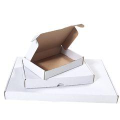 Vita brevpack med låsning - varubrev