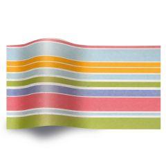 Silkespapper Island stripes